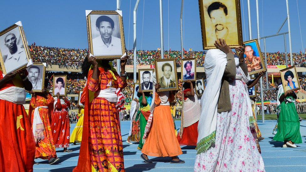 "The TPLF will not forget their long battle to oust the military regime behind the ""Red Terror""/AFP"